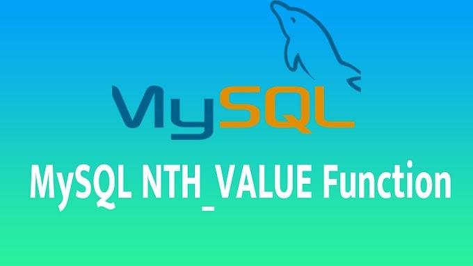 MySQL NTH_VALUE Function