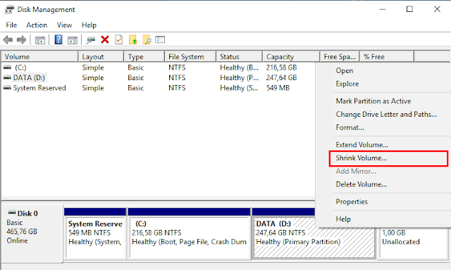 Freeware to Resize Partition in Windows 10