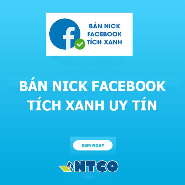 ban nick facebook tich xanh