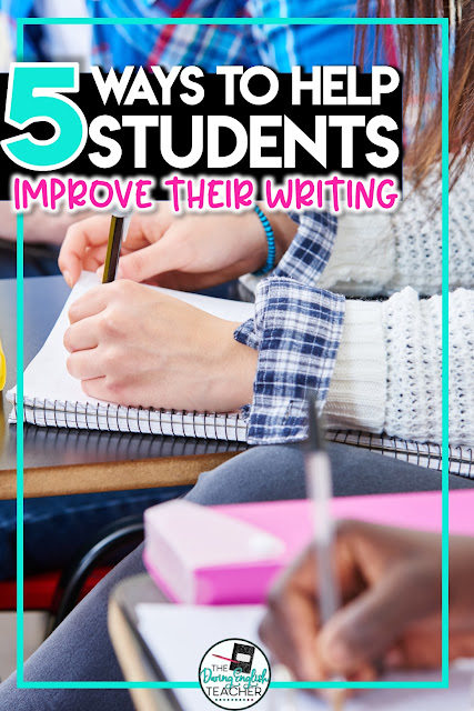 Teaching writing in the secondary ELA classroom