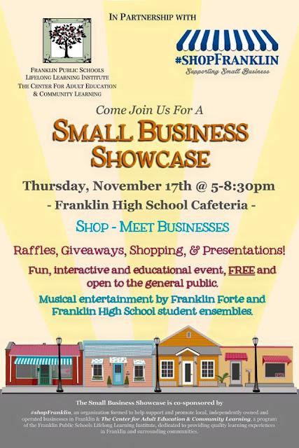 Small Business Showcase - FHS - Nov 17  5:00-8:30PM