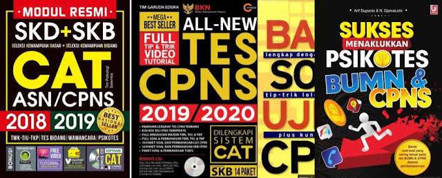 Download Kumpulan Ebook Soal Latihan CPNS dan PPPK