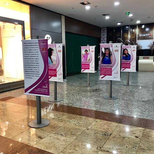 Exposição conta histórias de mulheres no North Shopping Barretos