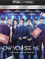 Now You See Me 2 - 4K Ultra HD (2016) Poster