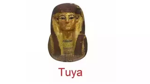 Mask of Lady Tuya