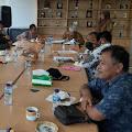 Pastikan Sembako Aman Ditengah Wabah Covid-19, DPRD Karawang Kunjingi Dinas Pangan