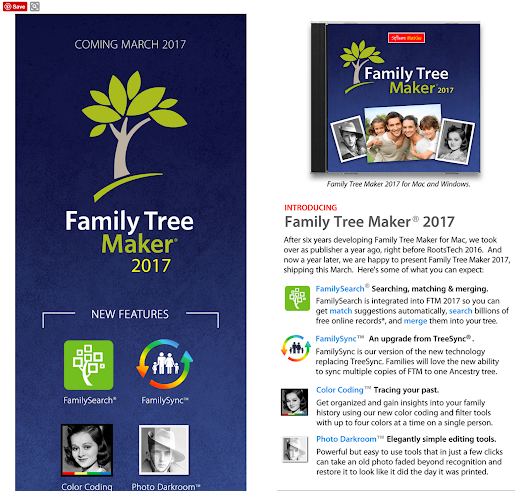 What ever happened to Family Tree Maker?