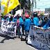 Aspirasi Mahasiswa di Tolak,  Aksi Demo Berakhir Ricuh