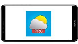 تنزيل برنامج Meteored Pro mod paid  مدفوع مهكر بدون اعلانات بأخر اصدار من ميديا فاير