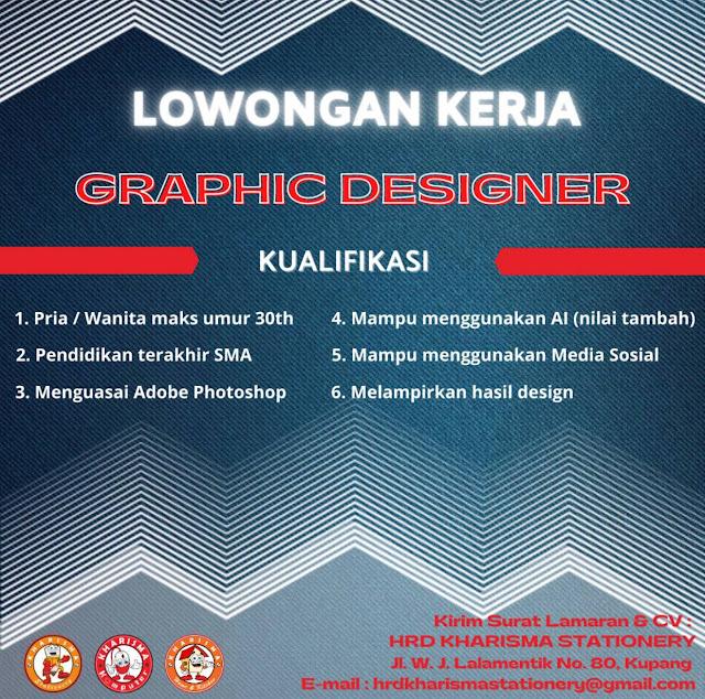 Lowongan Kerja Graphic Designer di Kharisma Stationery