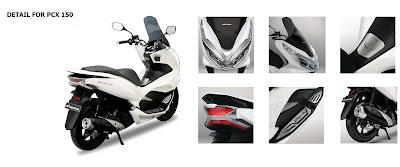Honda PCX 150 for rent in Ubud