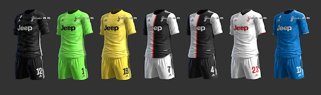newest 49753 a6ece Juventus 2019-2020 Full Kits - PES 2013 - PATCH PES | New ...