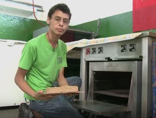 Alunos de Sete Barras criam Tijolo Ecológico feito de Fibra de Bananeira