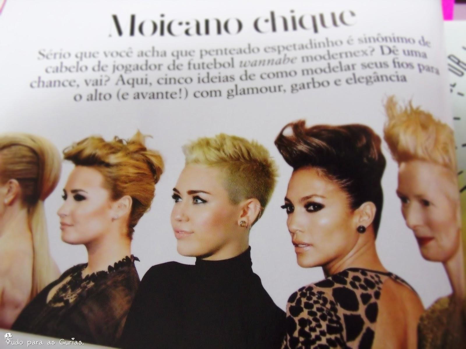 Revista Glamour de Outubro 2013.