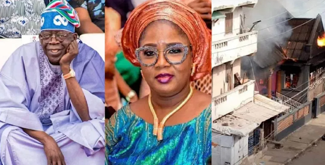 """""""Let's Go And Burn Her Place Down"""" – Reactions As Anonymous Hacker Reveals The Address Of Tinubu's First Daughter"""