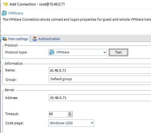 VisualCron: VMware automatizar