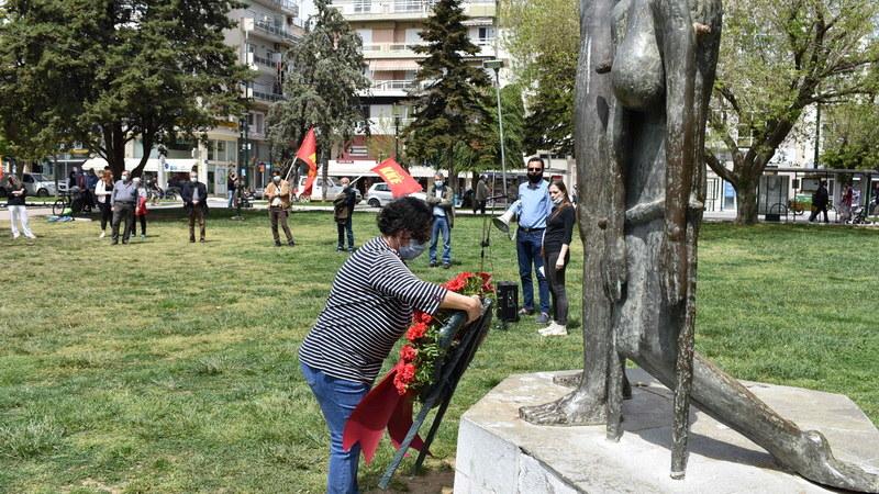 Αλεξανδρούπολη: Εκδήλωση τιμής και μνήμης της Εργατικής Πρωτομαγιάς