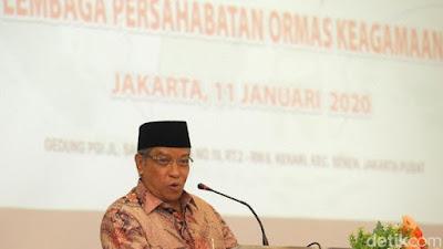 Erick Thohir Tunjuk Ketua Umum PBNU Said Aqil Jadi Komut KAI
