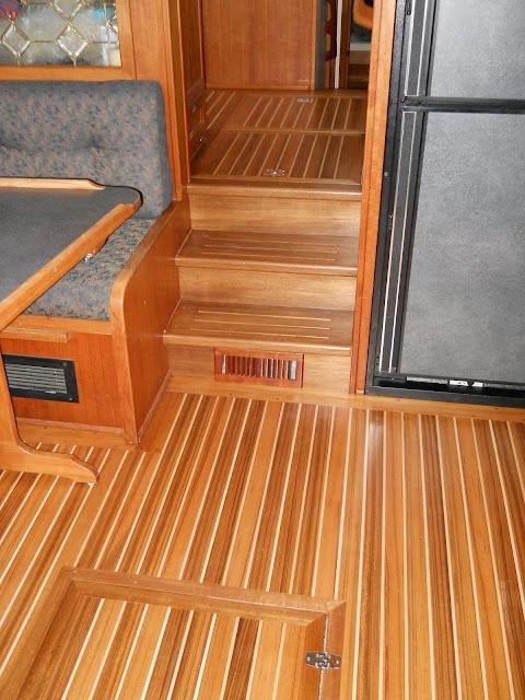 Emerald Marine Carpentry Teak Decks Cabin Sole