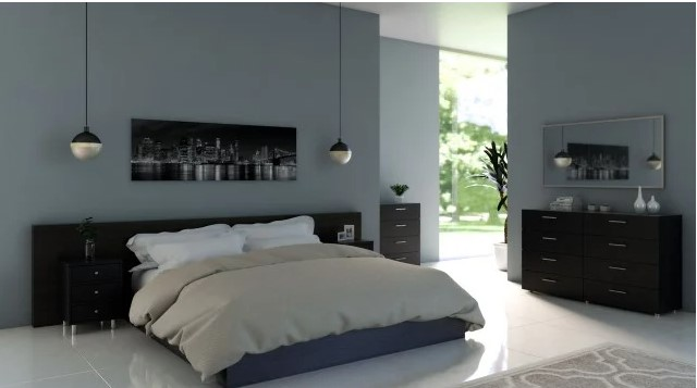 best paint colors for bedrooms with dark furniture