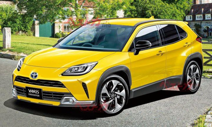 Lộ diện thông số mẫu crossover cỡ nhỏ mới của Toyota?