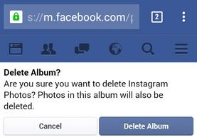Cara Menghapus Album Foto di FB