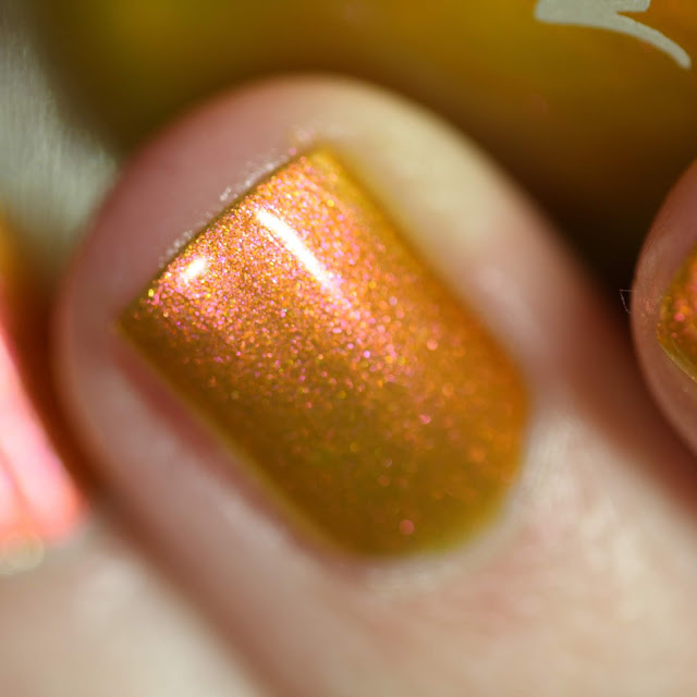 KBShimmer Sun Kissed swatch yellow nail polish