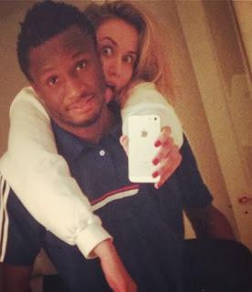 mikel obi white girlfriend