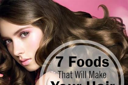 7 Makanan Penyubur Rambut