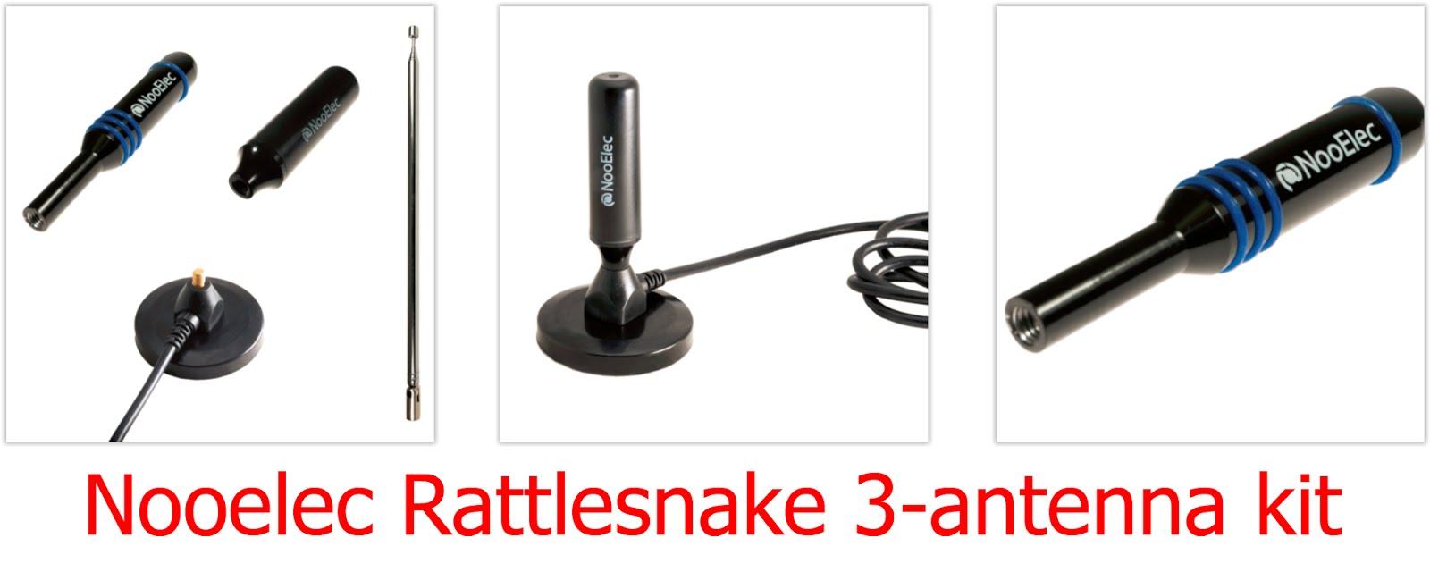 Radio for Everyone: Review: Nooelec Rattlesnake 3-antenna kit
