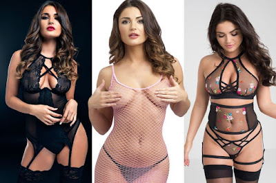 Love Island's India Reynolds shows off her sensational curved body as she poses in racy underwear for her first shoot