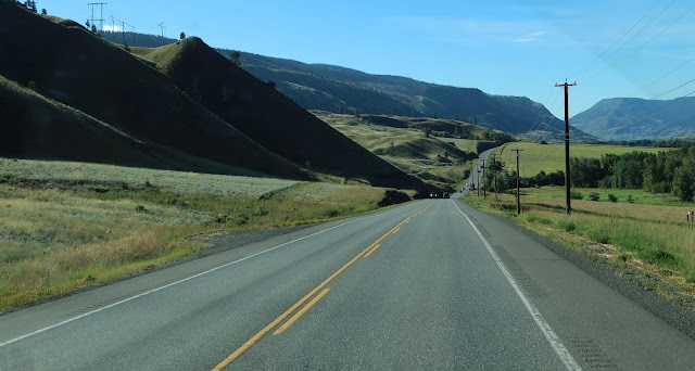 Cariboo highway going to Cache Creek