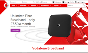 Vodafone Broadband extras include free switching and free router