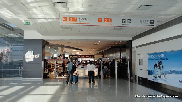 Duty free no Aeroporto de Montevidéu - Uruguai