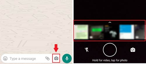 How to mute video's sound before sending on WhatsApp?