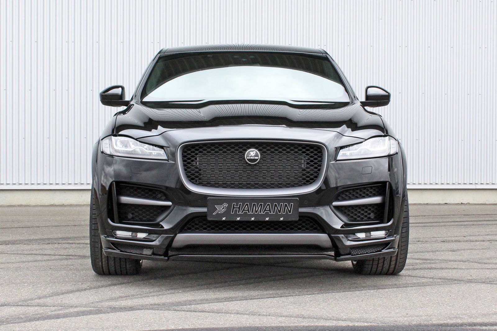 Hamann S Jaguar F Pace Distills Refined Aggression Carscoops