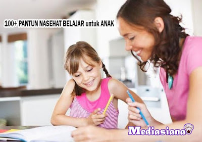 Pantun Nasehat Belajar untuk Anak