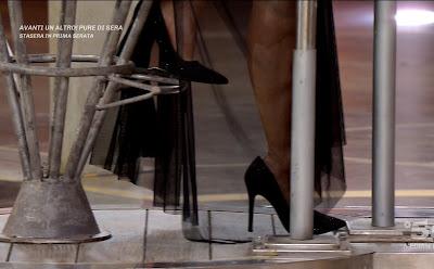 foto scarpe concorrente Sara Cesarini Avanti Un Altro 2 maggio