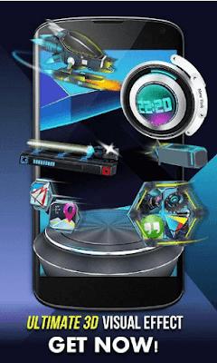 Launcher 3D Shell