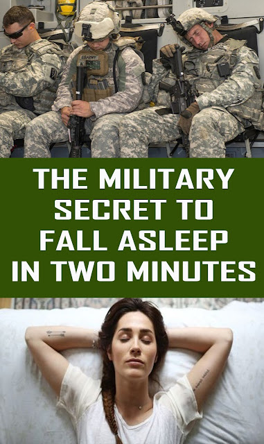 THE MILITARY SECRET TO FALL ASLEEP IN TWO MINUTES #Health #Remedies