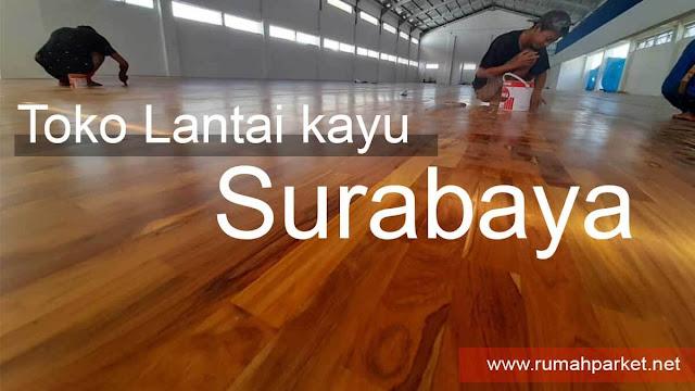 jual lantai kayu parket surabaya