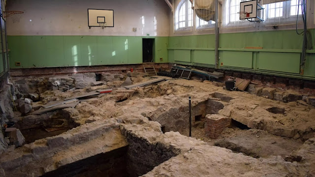 Medieval ruins found under high school gym in Finland