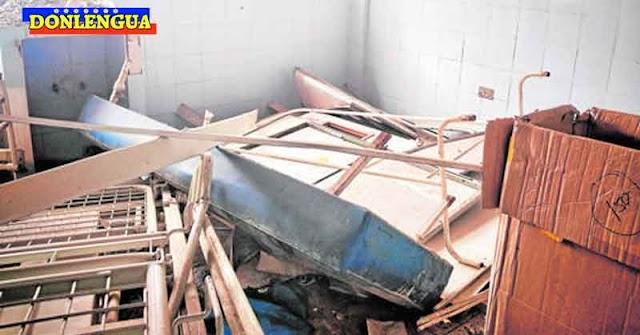 INHUMANO | Régimen convirtió en ruinas al Hospital de niños JM de los Ríos