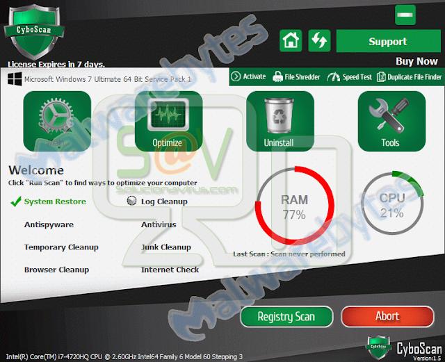Cyboscan PC Optimizer (Rogue)