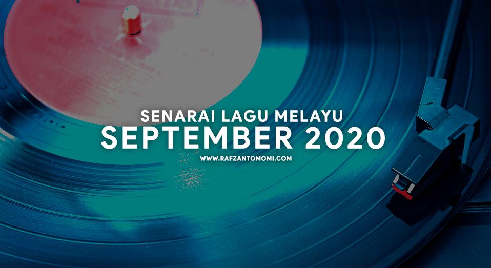 Senarai Lagu Melayu September 2020