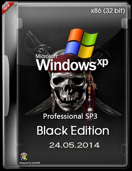 Windows XP Professional SP3 x86 – Black Edition MAY 2014.5.24 + KEYS