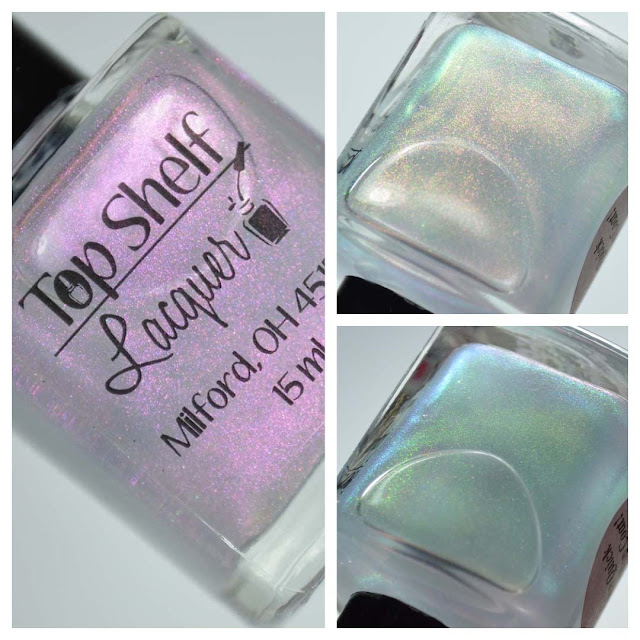 color shifting quick dry top coat