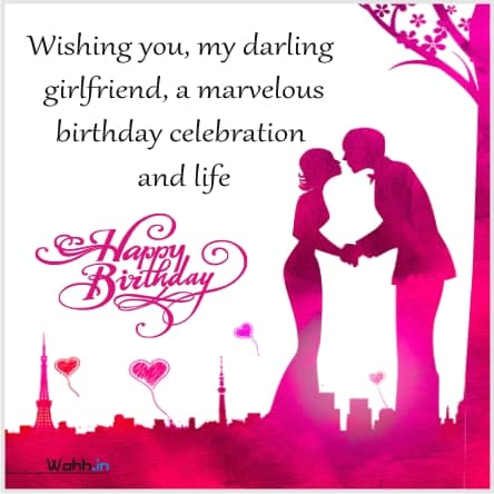 Birthday wishes in Hindi for Lover gf