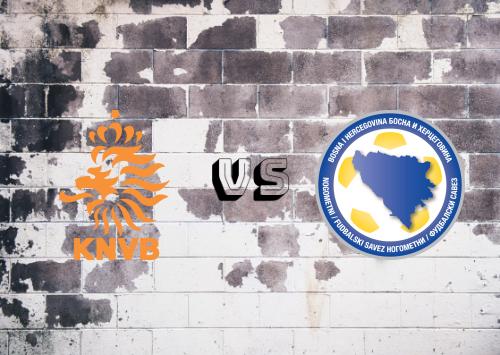 Países Bajos vs Bosnia-Herzegovina  Resumen y Partido Completo