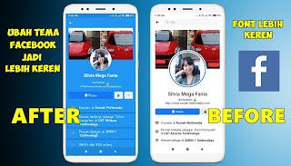 Cara Ganti Warna Tema Dan Font Di Aplikasi Facebook